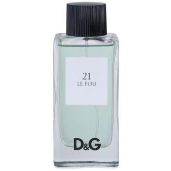 Dolce & Gabbana D&G Anthology Le Fou 21 тоалетна вода тестер за мъже 1