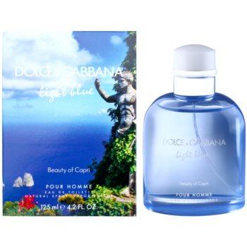 Dolce & Gabbana Light Blue Beauty of Capri Eau de Toilette pentru barbati 125 ml