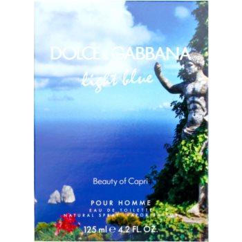 Dolce & Gabbana Light Blue Beauty of Capri Eau de Toilette für Herren 4