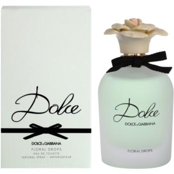 Dolce & Gabbana Dolce Floral Drops eau de toilette pentru femei 75 ml