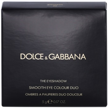 Dolce & Gabbana The Eyeshadow sombras duplo 2