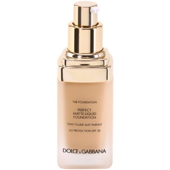 Dolce & Gabbana The Foundation Perfect Matte Liquid Foundation base para aspeto mate 1
