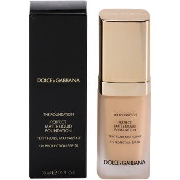 Dolce & Gabbana The Foundation Perfect Matte Liquid Foundation base para aspeto mate 3