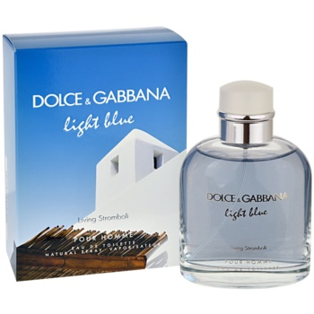 Dolce & Gabbana Light Blue Pour Homme Living Stromboli eau de toilette pentru barbati 125 ml