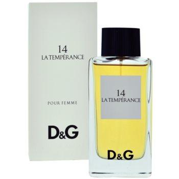 Dolce & Gabbana D&G Anthology La Temperance 14 eau de toilette pentru femei 100 ml