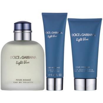 Dolce & Gabbana Light Blue Pour Homme подаръчен комплект 1