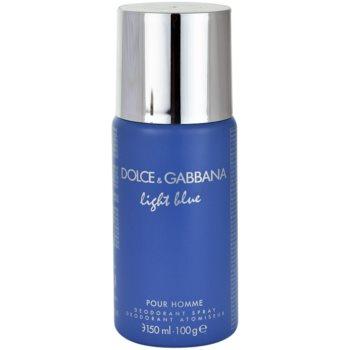 Dolce & Gabbana Light Blue Pour Homme Deo-Spray für Herren