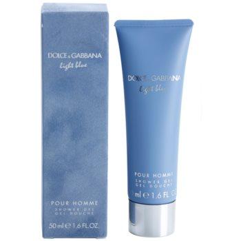 Dolce & Gabbana Light Blue Pour Homme żel pod prysznic dla mężczyzn