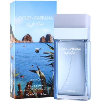 Dolce & Gabbana Light Blue Love in Capri Eau de Toilette für Damen 1