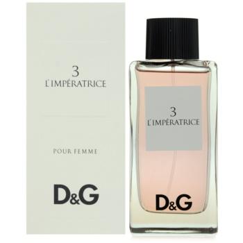 Dolce & Gabbana D&G Anthology L´Imperatrice 3 eau de toilette para mujer