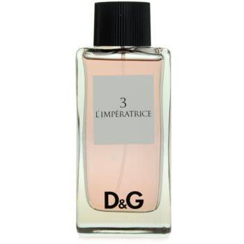 Dolce & Gabbana D&G Anthology L´Imperatrice 3 Eau de Toilette para mulheres 2