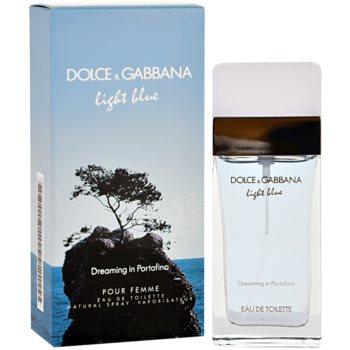 Dolce & Gabbana Light Blue Dreaming in Portofino Eau de Toilette pentru femei 50 ml
