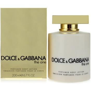 Fotografie Dolce & Gabbana The One tělové mléko pro ženy 200 ml