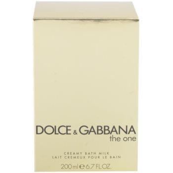 Dolce & Gabbana The One Dusch Creme für Damen  (Bademilch) 2