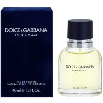Fotografie Dolce & Gabbana Pour Homme toaletní voda pro muže 40 ml