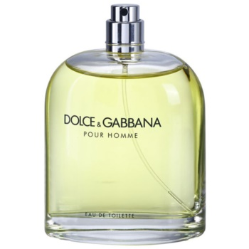 Dolce & Gabbana Pour Homme toaletní voda tester pro muže
