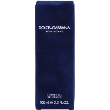 Dolce & Gabbana Pour Homme żel pod prysznic tester dla mężczyzn 3