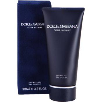 Dolce & Gabbana Pour Homme żel pod prysznic tester dla mężczyzn 1