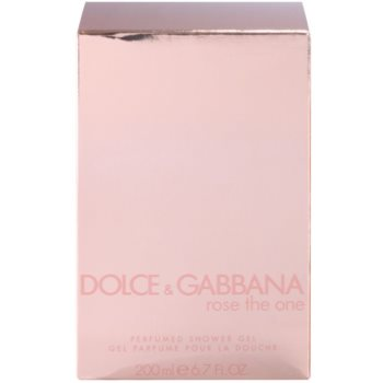 Dolce & Gabbana Rose The One Shower Gel for Women 3