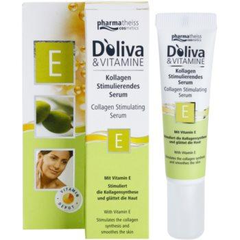Doliva Basic Care сироватка стимулююча вироблення колагену з вітаміном Е 1