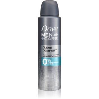 Dove Men+Care Clean Comfort deodorant fara alcool sau particule de aluminiu 24 de ore