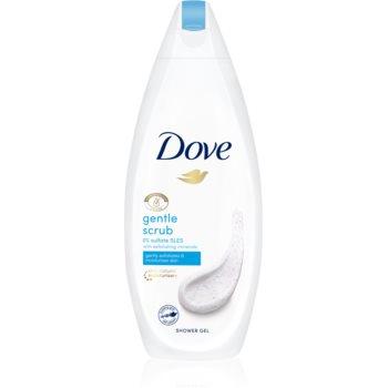 Dove Gentle Exfoliating gel de dus hidratant imagine produs