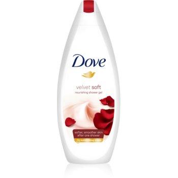Dove Velvet Soft gel de dus hidratant poza
