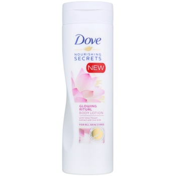 Dove Nourishing Secrets Glowing Ritual lotiune de corp