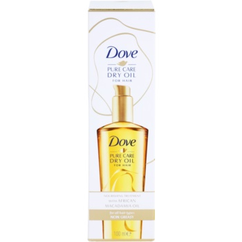 Dove Advanced Hair Series Pure Care Dry Oil ulei hranitor par 2