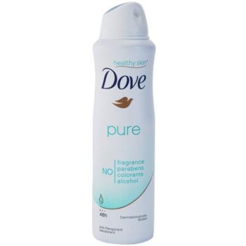 Dove Pure dezodorant antiperspirant v spreji 1
