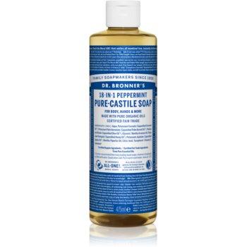 Dr. Bronner's Peppermint săpun lichid universal