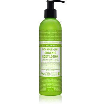 Dr. Bronner's Patchouli & Lime lotiune intensiv regeneratoare