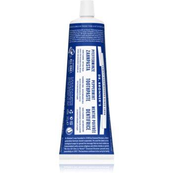 Dr. Bronner's Peppermint pasta de dinti albitoare fara Fluor imagine produs