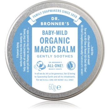 Dr. Bronner's Baby-Mild balsam pentru corp fara parfum poza
