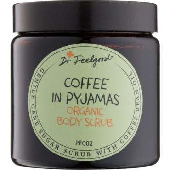 Dr. Feelgood BIO peeling zahăr cu ulei de boabe de cafea  120 ml