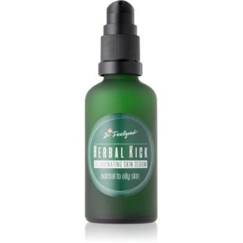 Dr. Feelgood Herbal Kick ser de reîntinerire în două faze pentru piele normala si grasa
