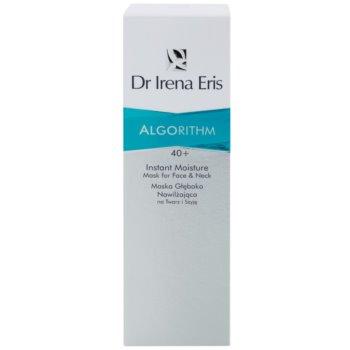 Dr Irena Eris AlgoRithm 40+ máscara de hidratação profunda para rosto e pescoço 2