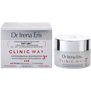 Dr Irena Eris Clinic Way 3° creme de dia de rejuvenescimento e clareamento SPF 15 2