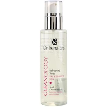 Dr Irena Eris Cleanology erfrischendes Tonikum für empfindliche und trockene Haut
