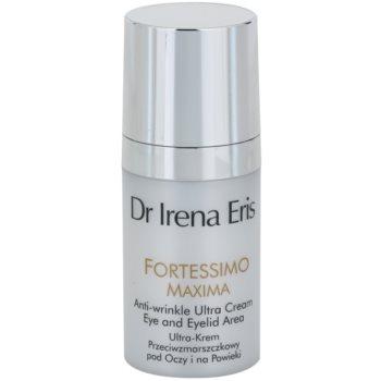Dr Irena Eris Fortessimo Maxima 55+ crema anti-rid zona ochilor (For Eye and Eyelid Area) 15 ml