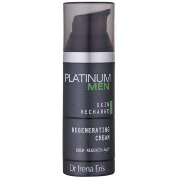Dr Irena Eris Platinum Men 24 h Protection нічний відновлюючий крем для втомленої шкіри