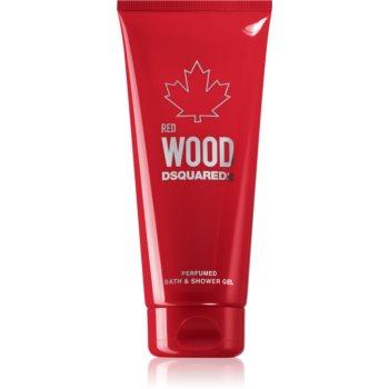 Dsquared2 Red Wood gel de dus si baie pentru femei imagine
