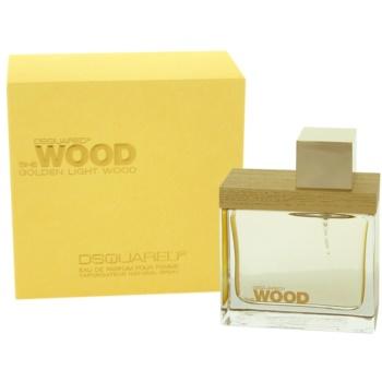 Dsquared2 Golden Light Wood woda perfumowana dla kobiet
