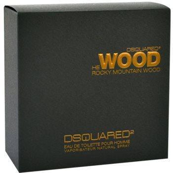 Dsquared2 He Wood Rocky Mountain Eau de Toilette für Herren 1