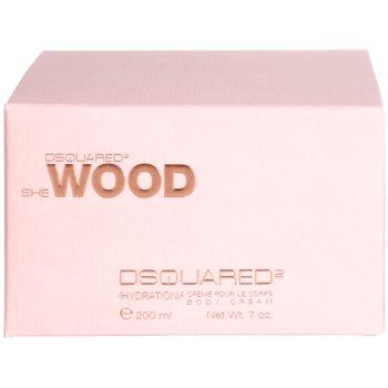 Dsquared2 She Wood Body Cream for Women 3