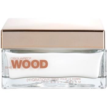 Fotografie Dsquared2 She Wood tělový krém pro ženy 200 ml