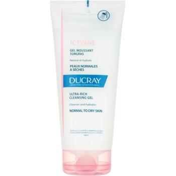 Ducray Ictyane gel de curatare spumant pentru piele normala si uscata imagine produs
