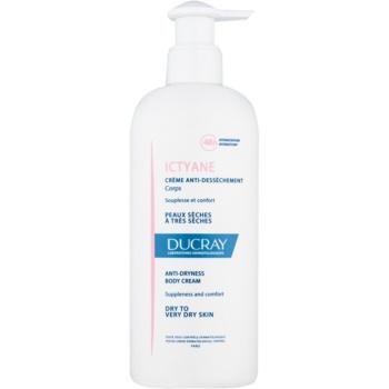 Ducray Ictyane crema de corp hidratanta pentru pielea uscata sau foarte uscata  400 ml