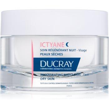 Ducray Ictyane Tratament regenerator pe timpul nopții ten uscat