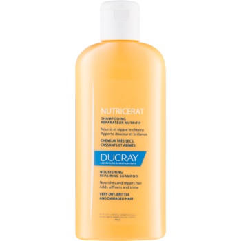 Fotografie Ducray Nutricerat vyživující šampon pro obnovu a posílení vlasů 200 ml